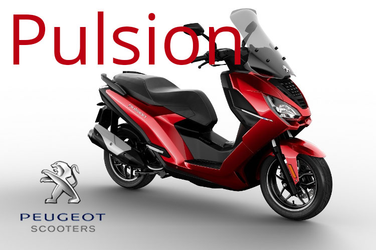 Pulsion . Peugeot Scooters